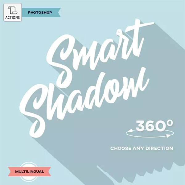 Smart Shadow Photoshop Action