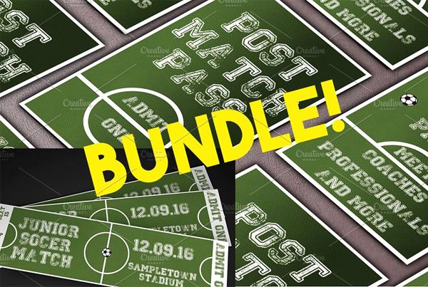 Soccer Event Ticket & Pass Bundle