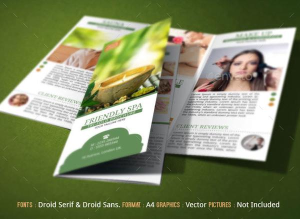 Spa Resort Brochure Template