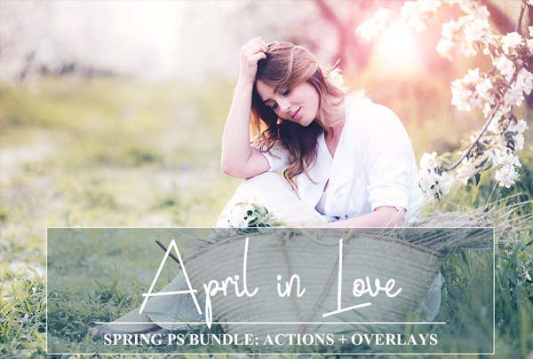 Spring Bundle PSD Actions