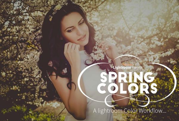 Spring Colors Lightroom Preset