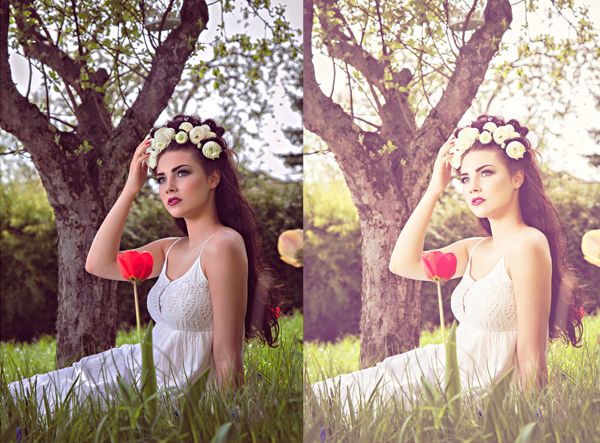 Spring Photoshop Actions Collection