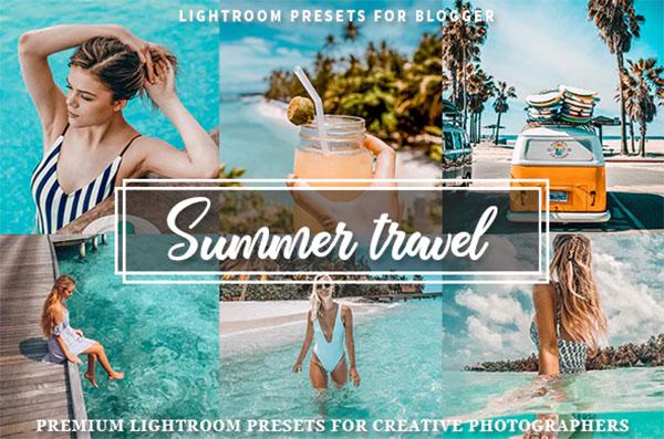 Summer Travel Blogger Presets