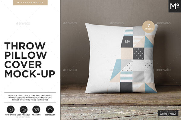 The Pillow Cover Mockup