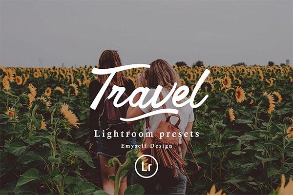 Travel Lightroom Preset PSD