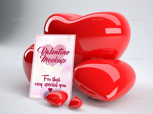 Valentine Hearts Mock ups