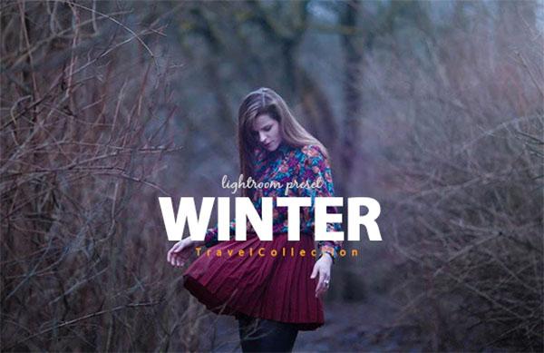 Winter & Travel Blogger Collection Lightroom Preset