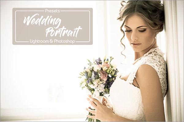 15 Wedding Portrait Lightroom Presets