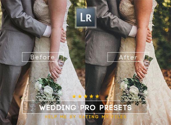 25 Premium Wedding Lightroom Presets
