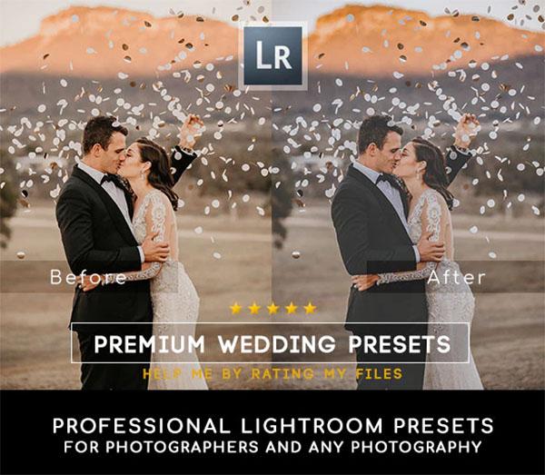 30 Premium Wedding Lightroom Presets