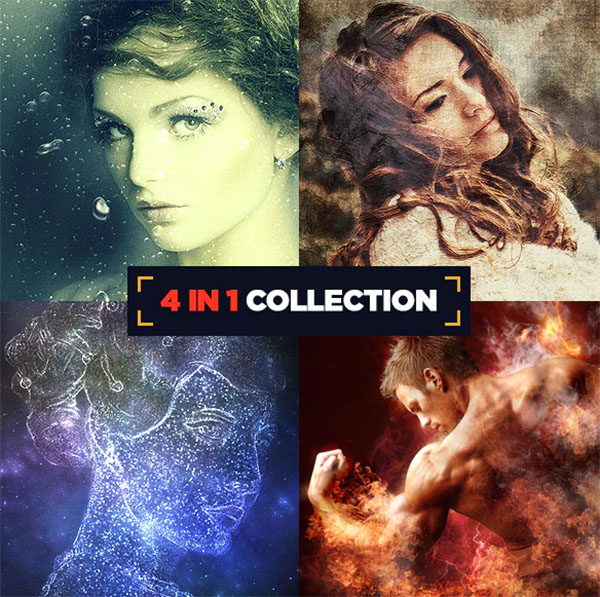 4 in 1 Collection Actions