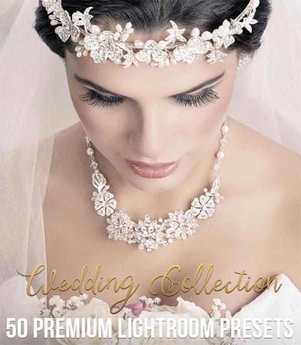 50 Premium Wedding Lightroom Presets