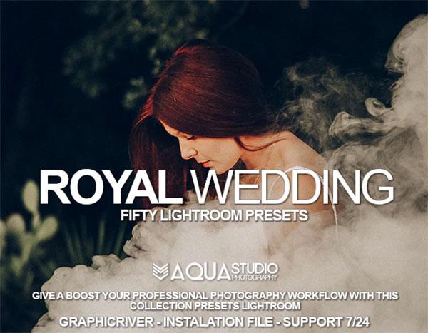 50 Pro Royal Wedding Lightroom Presets