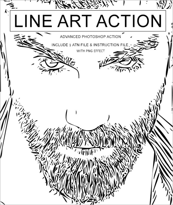 Advanced Line Art Action