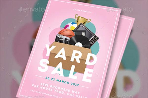 Advertisement Garage Sale Flyer