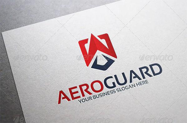 Aero Guard Logo Template