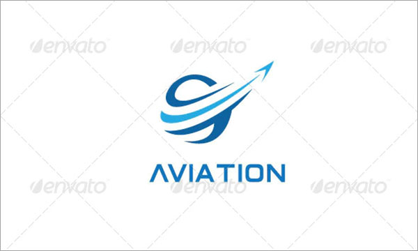 Air Travel Transport Logo