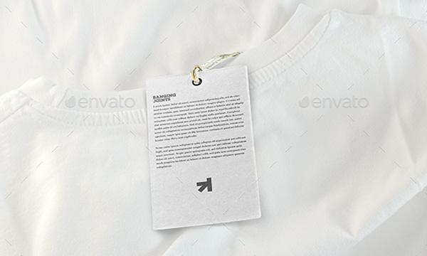 Apparel Label Tag Mockups Bundle