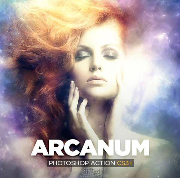 Arcanum Photoshop Action