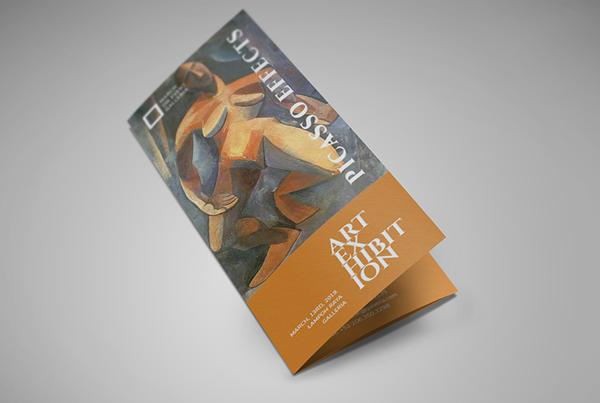 Art Exhibition Brochure Template