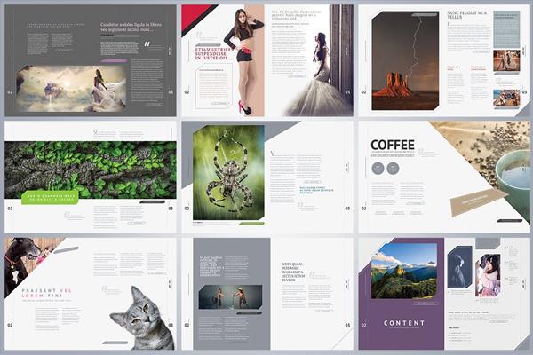 Art Magazine Design Template