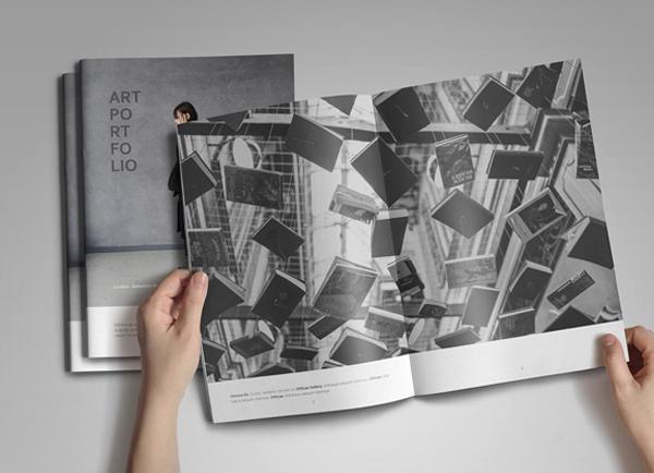 Art Portfolio Brochure Template