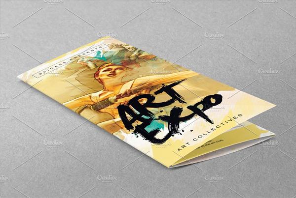 Art Show Trifold Brochure