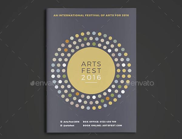 Arts Festival Brochure