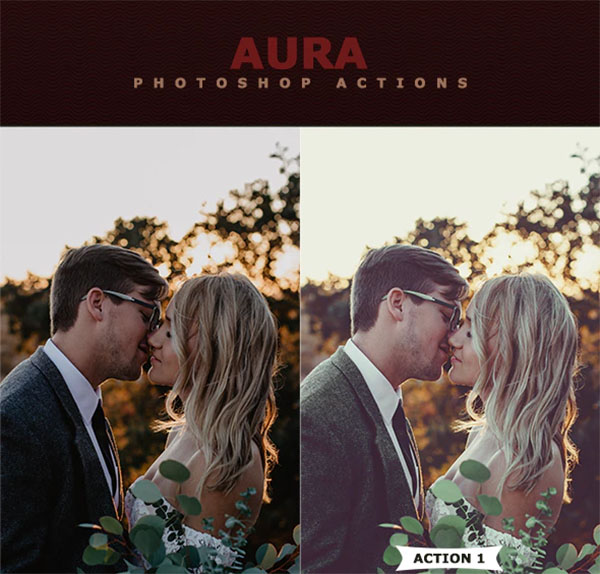 Aura Photoshop Actions