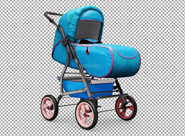 Baby Stroller MockUp