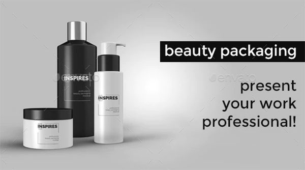 Beauty Packaging Mockup