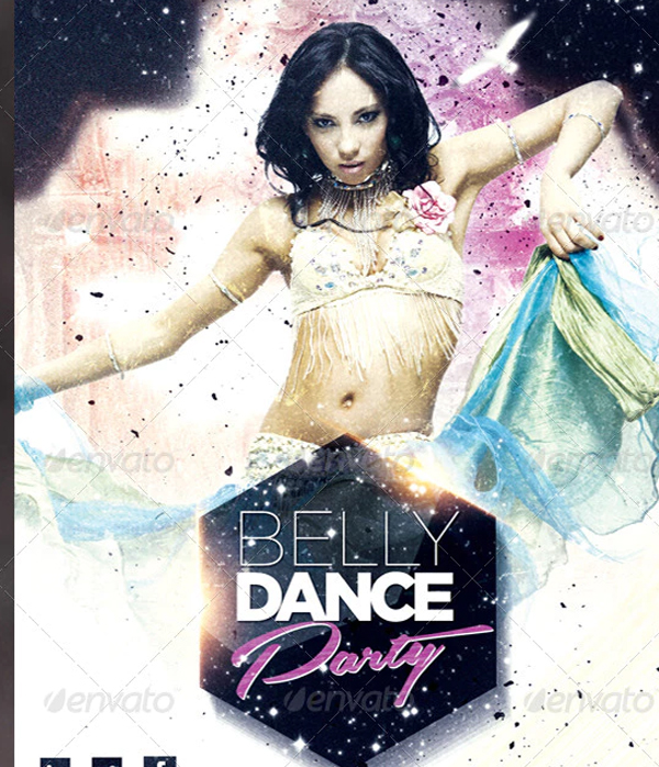 Belly Dance Party Flyer Template