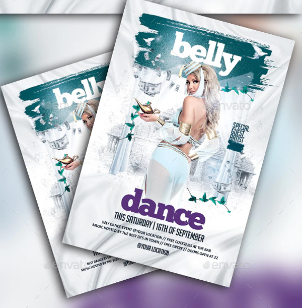 Belly Dance Party Flyer Templates