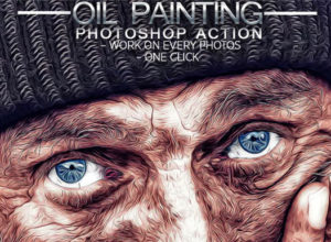 Best Oil Paint Photoshop Actions