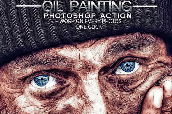 Best Oil Paint Photoshop Actions