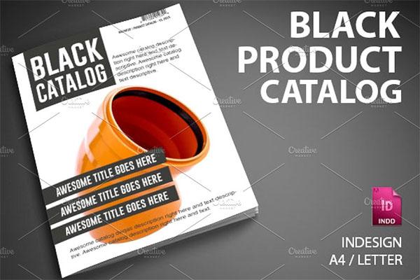 Black Product Catalog