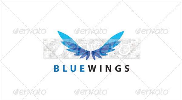 Bluewings Transport Logo