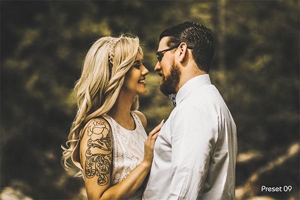 Boho Wedding Lightroom Presets & Photoshop Filters