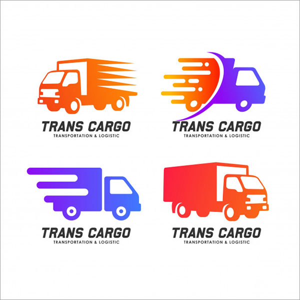 Cargo Delivery Services Free Logo