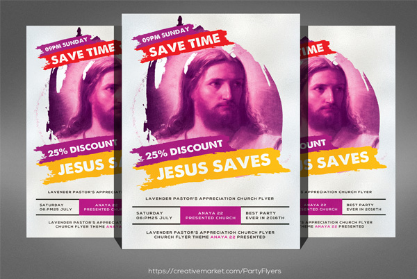 Church Flyer Concert Template