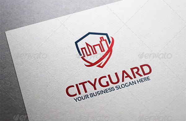 City Guard Logo Template