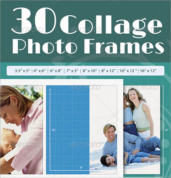 Collage Photo Frames Template