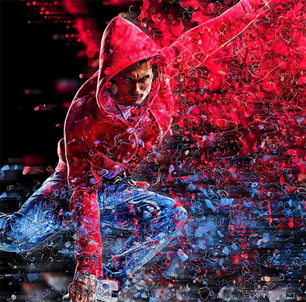 Color Splash Photoshop Action Design