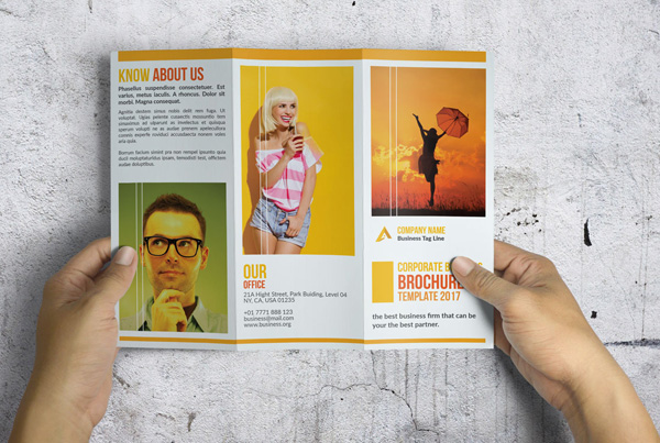 Corporate Painting Brochure Templates
