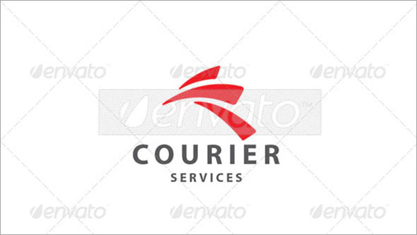 Courier Transport Logo Design