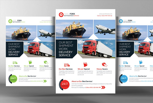 Delivery & Shipment Flyer