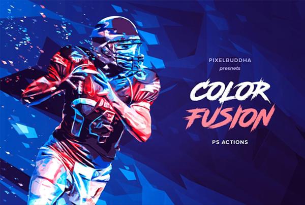 Digital Color Fusion Photoshop Actions