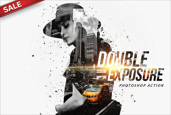 Digital Double Exposure Photoshop Action