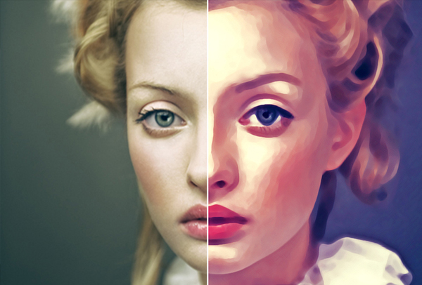 Digital Painting Effect Pro Photoshop Actions