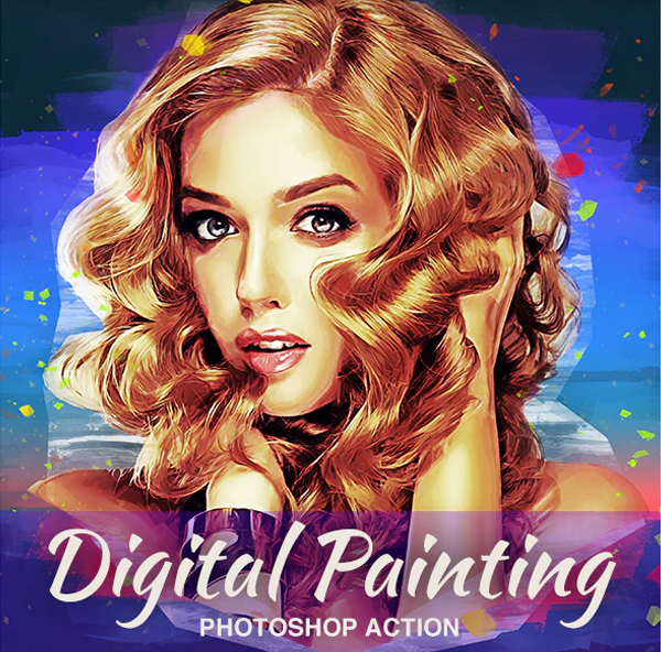 Digital Painting Photoshop Actions